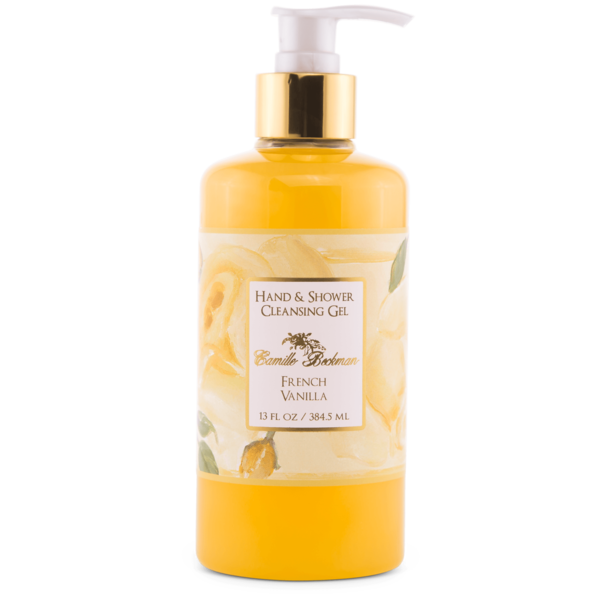 French Vanilla Hand and Shower Cleansing Gel 13 oz