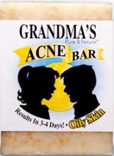 Grandma's Acne Bar for Oily Skin
