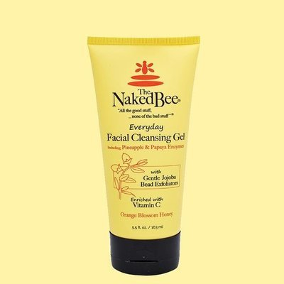 Orange Blossom Honey Facial Cleansing Gel 5.5oz