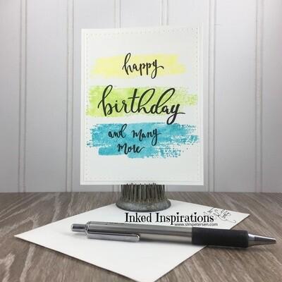 Happy Birthday & Many More