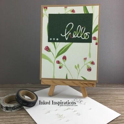 Hello  - Tulips (Portrait Style)
