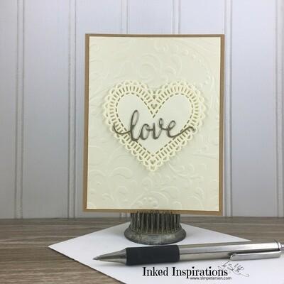 Love - Ivory Heart