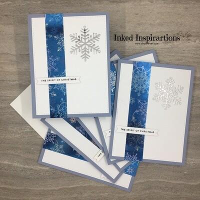 The Spirit of Christmas - Silver Snowflake