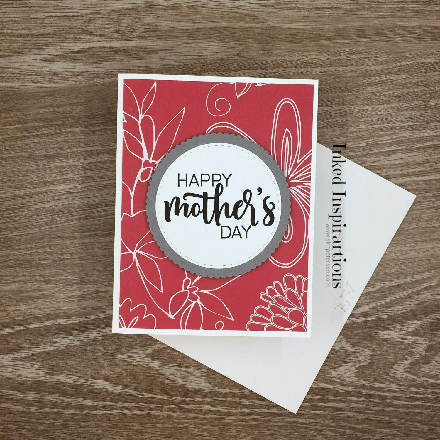 Happy Mother's Day - Red Floral