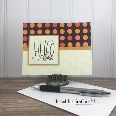 Hello Fall - Polka Dots