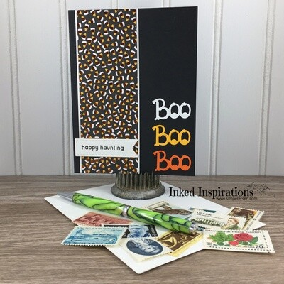 Boo Tiro - Candy Corn