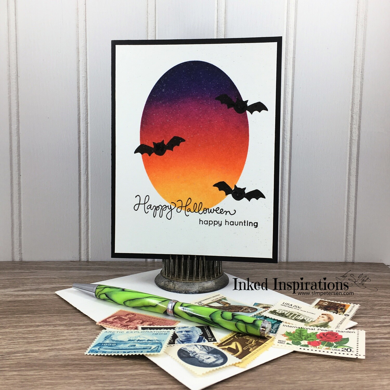 Happy Halloween Happy Haunting - Bats