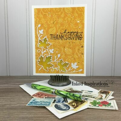Happy Thanksgiving - Leaves