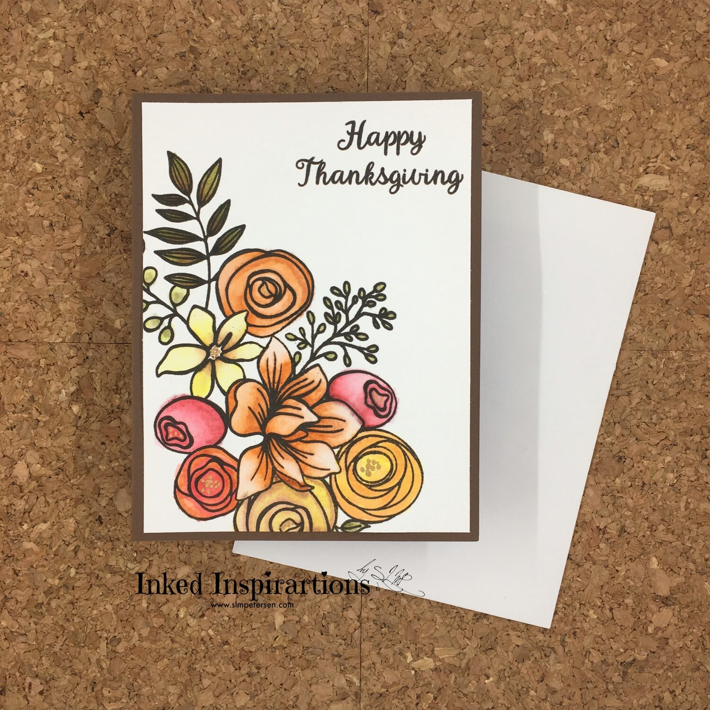Happy Thanksgiving - Bouquet