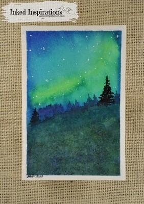 Aurora - Watercolor