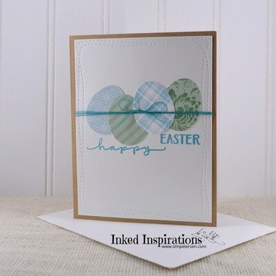 Happy Easter - Blue & Green Eggs