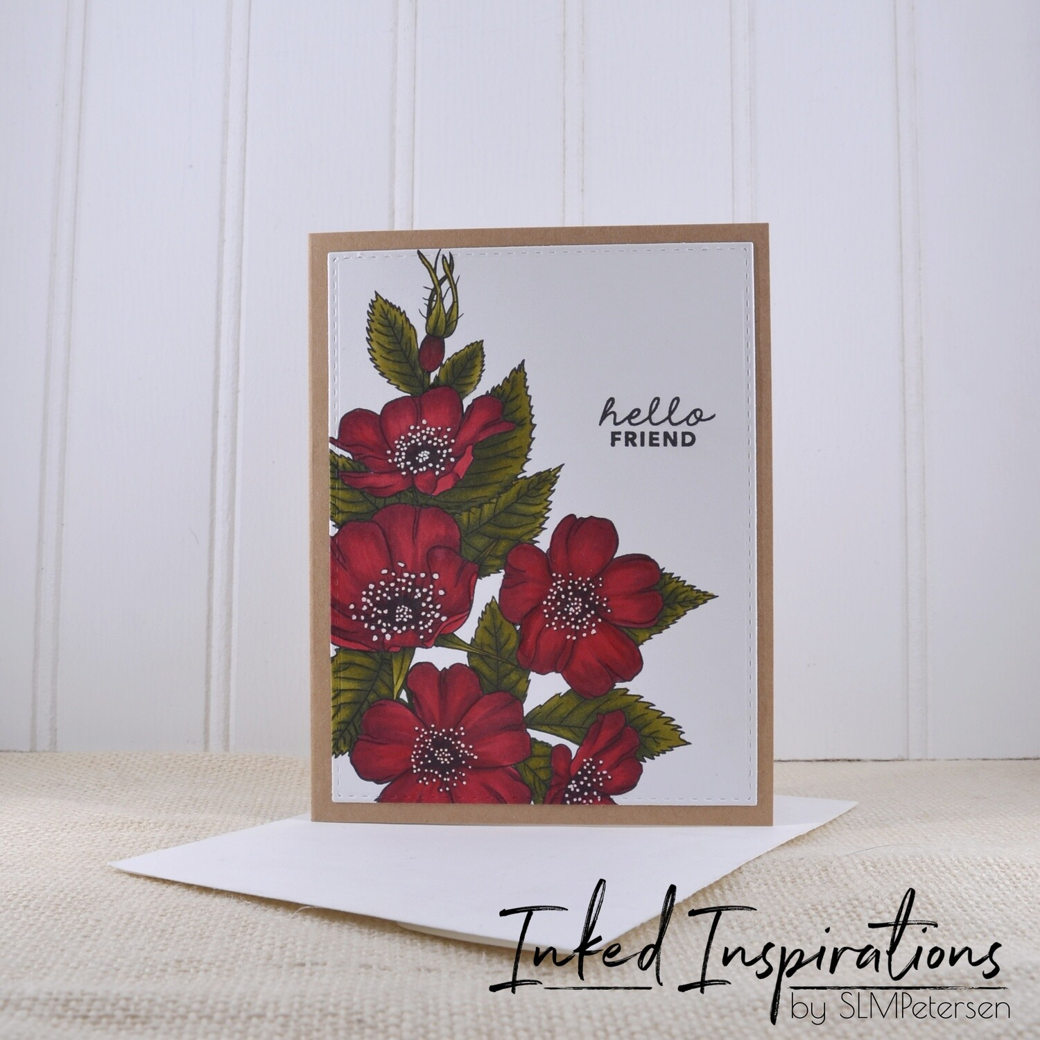Hello Friend - Red Roses