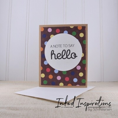 A Not to Say Hello - Dots