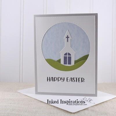 Happy Easter - Grey Church