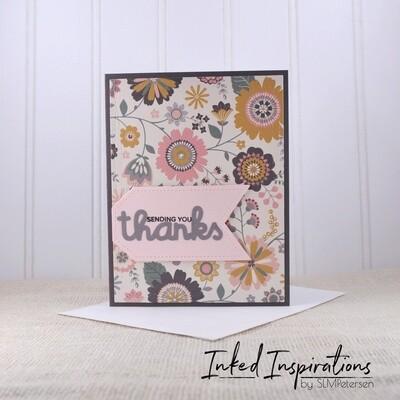 Sending You Thanks - Floral