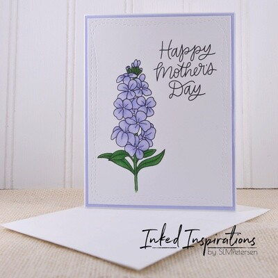 Happy Mother's Day - Lavender Floral