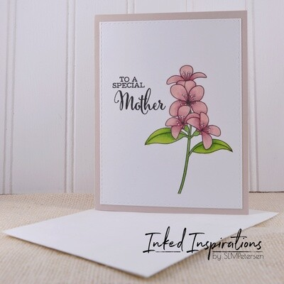 To a Special Mother - Pink Floral