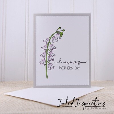 Happy Mother's Day - Lavender Bell Flowers