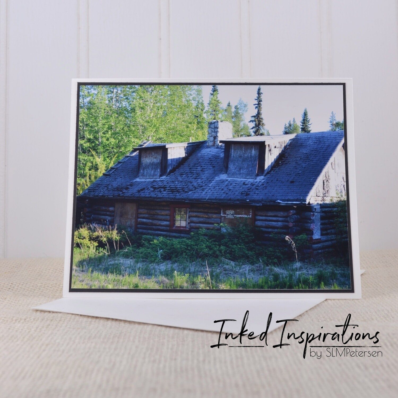 Log Home Big Delta Food Mart- Original Photography