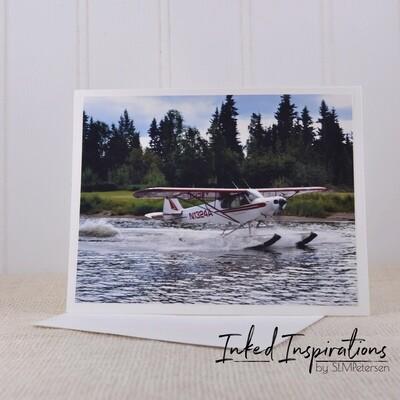 Piper Super Cub on Floats (1)- Original Photography