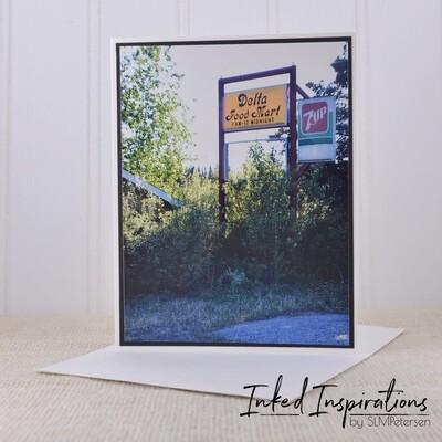 Big Delta Food Mart Sign (1)- Original Photography