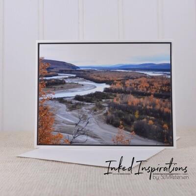 Tanana River (Fall) - Original Photography