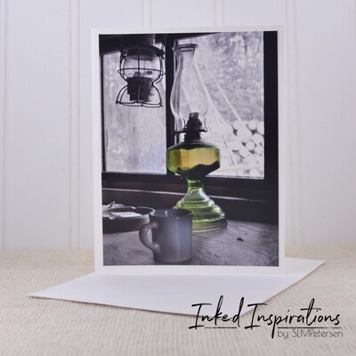 Green Lamp - Original Photography