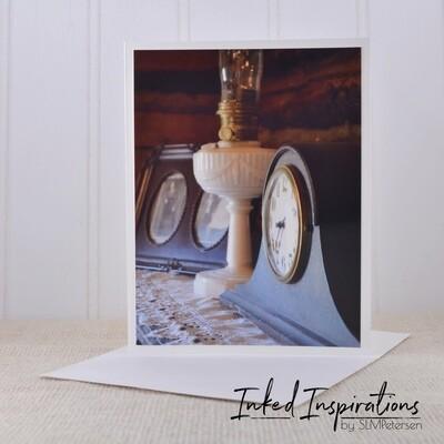Clock at Sullivan Roadhouse - Original Photography