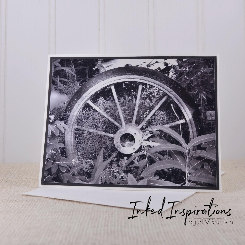 Wheel at Rika's Roadhouse - Original Photography