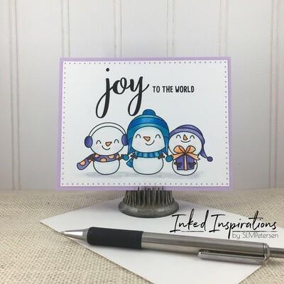 Joy to the World - Snowman Trio