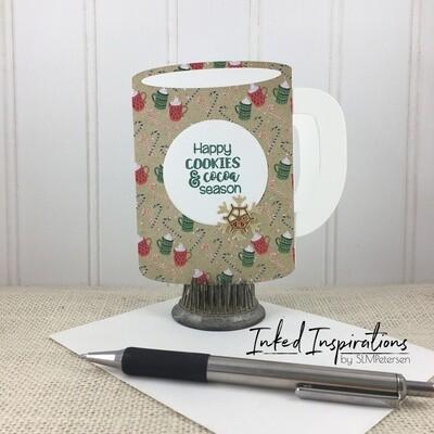 Happy Cookies & Cocoa Season Mug