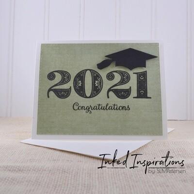 2021 Congratulations - Green Linen