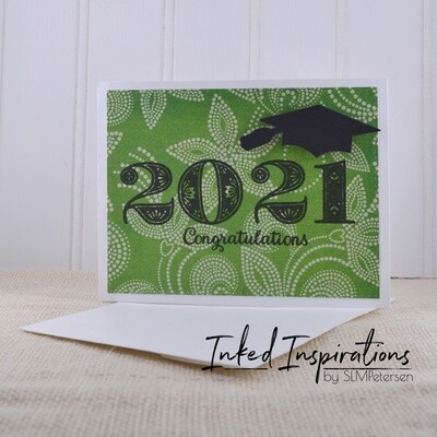 2021 Congratulations - Green Dot Foliage