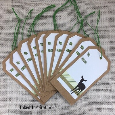 Fawn Deer Gift Tags