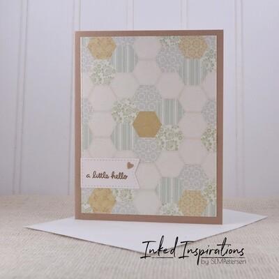 A Little Hello - Quilt Pattern