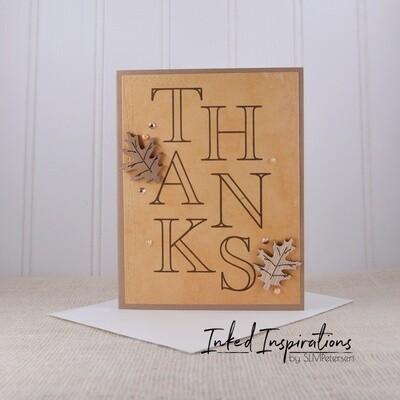 Thanks - Wood Leaves