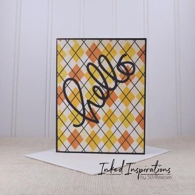 Hello - Fall Plaid