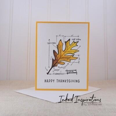 HappyThanksgiving - Oak Leaf