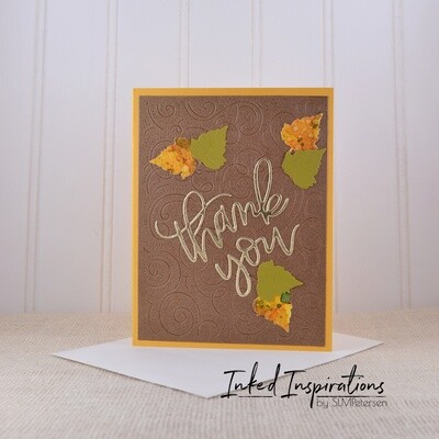 Thank You - Fall Leaves