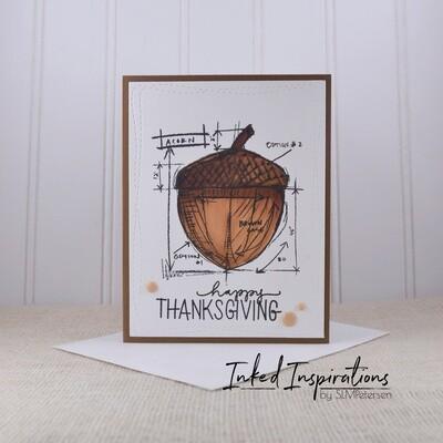 Happy Thanksgiving - Acorn