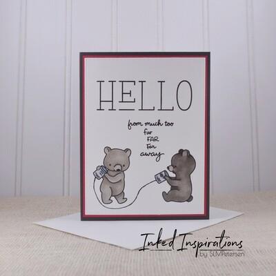 Hello from Far Away - Brown Bears