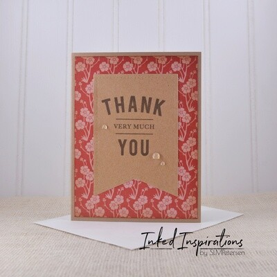Thank You Very Much - Red Floral