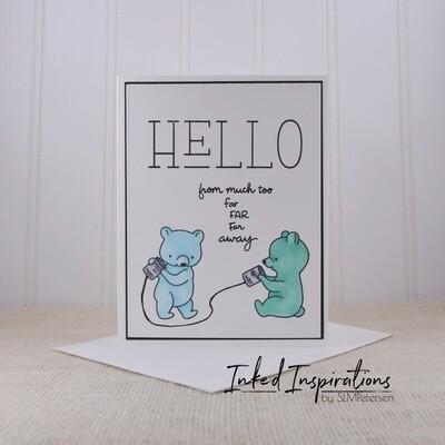 Hello from Far Away - Blue Bears