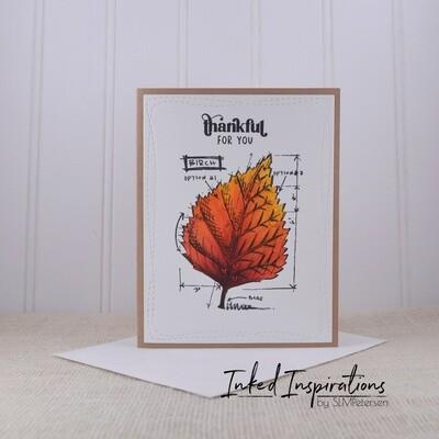 Thankful for You - Birch Leaf