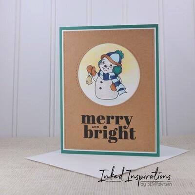 Merry & Bright - Snowman