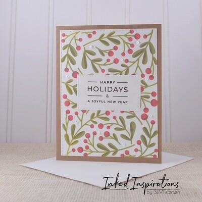 Happy Holidays - Winter Berries