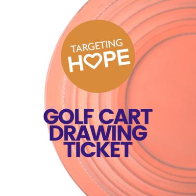 Golf Cart Drawing Ticket