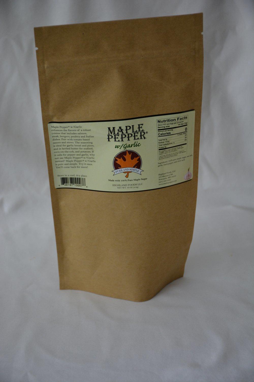 Maple Pepper® w/Garlic: 1 lb. bag