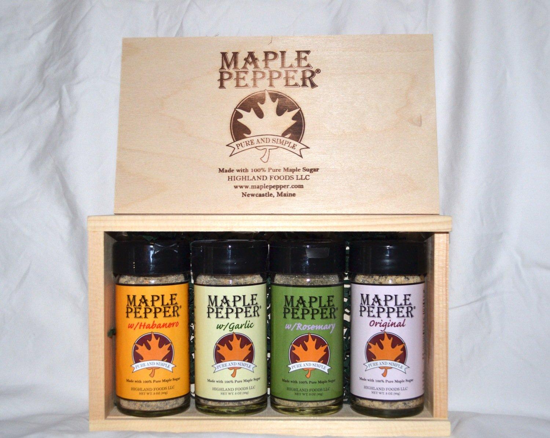 Maple Pepper® Sampler