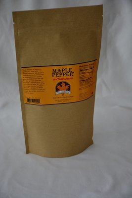Maple Pepper® w/Habanero: 1 lb. bag